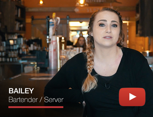 BAILEY Bartender / Server video